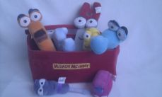 Adorable Big My 1st 'Handy Manny' Plush Toolset & ToolBox